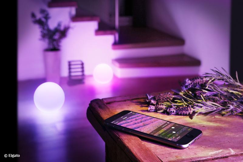 dynamisches stimmungslicht mit handy tablet und apple watch steuern smart wohnen. Black Bedroom Furniture Sets. Home Design Ideas