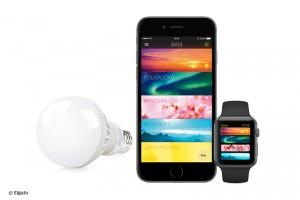 Die gewünschte Atmosphäre kann direkt mit dem iPhone, iPad oder der Apple Watch gesteuert werden. Bild: ELgato