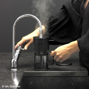 schlauer wasserhahn: kochendes wasser ohne zeitverlust