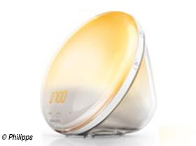 Die neuen Philipps Wake-up Lights erleichtern das Aufstehen an dunklen Wintermorgen und sind optische Hingucker im Schlafzimmer.