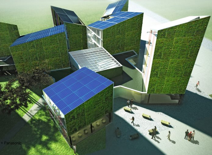 Future Living Berlin als 3D-Model