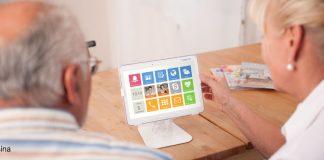 Asina App auf Tablet
