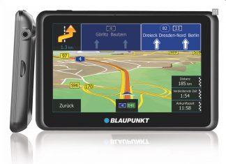 Mobile Navis von Blaupunkt sind mit aktiver Halterung und Stauinformationen via Internet ausgerüstet.