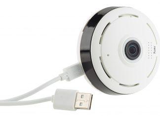Mit der 7links IP-Panorama-Überwachungskamera ist auch aus fernen Länder die Kontrolle über das eigene Heim möglich