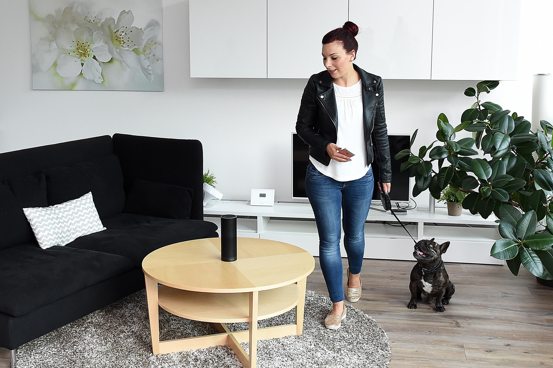 sprachbefehl steuert zunehmend smartes zuhause smart wohnen. Black Bedroom Furniture Sets. Home Design Ideas