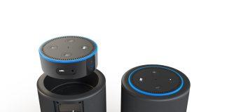 Vaux - der erste kabellose Lautsprecher für Alexa - ist jetzt in Deutschland erhältlich. © Amazon