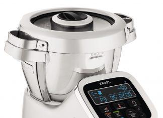 Zuverlässig, robust und vielseitig: Die neue Krups Küchenmaschine i-Prep&Cook Gourmet XL sorgt für unbegrenzten Genuss bei minimalem Zeitaufwand. © Krups