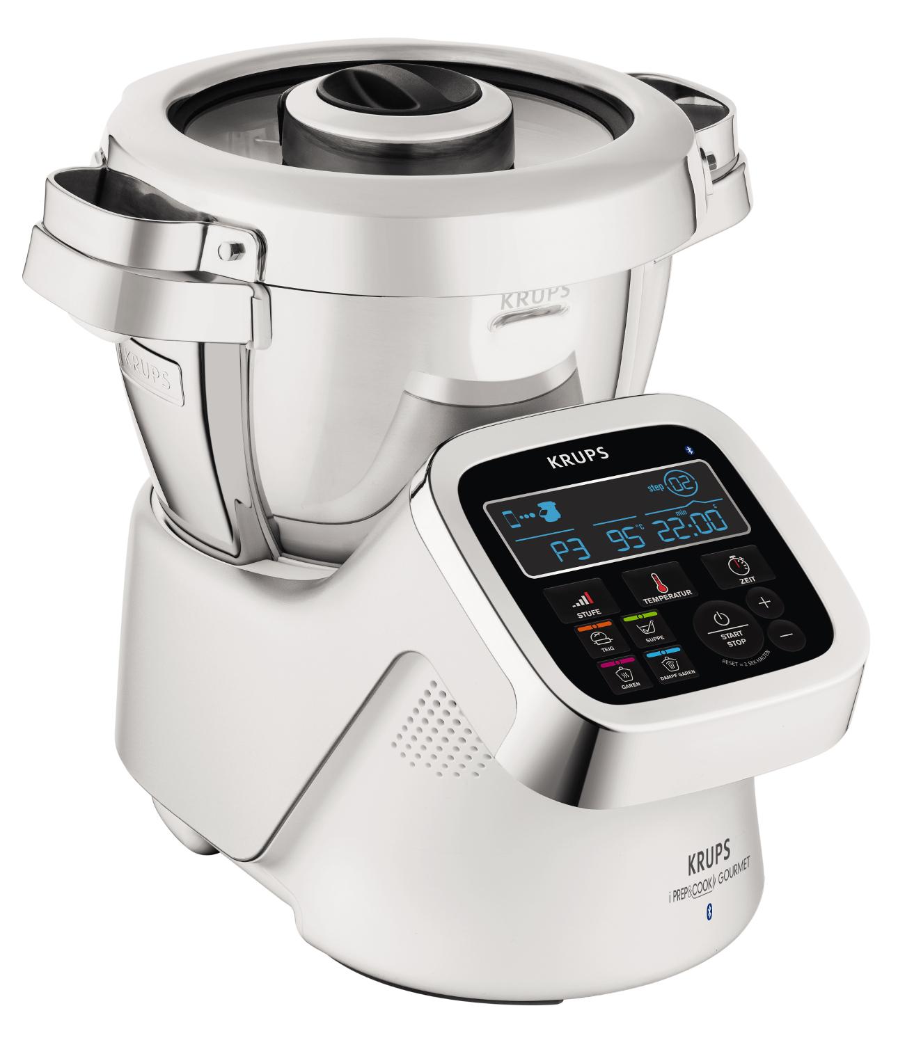 Krups Küchenmaschine i-Prep&Cook Gourmet XL mit Bluetooth - Smart-Wohnen