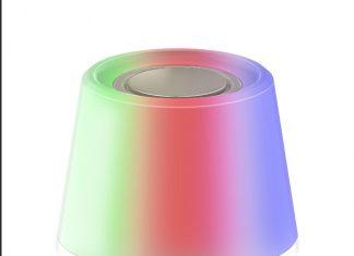 Mit der innovativen Sengled Solo 2 RGBW, der farbwechselnden LED-Leuchte mit integriertem Bluetooth-Lautsprecher, wird der Winter bunter. © Sengled www.sengled.com