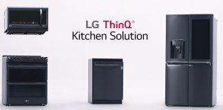 Die smarten Hausgeräten von LG, wie der Kühlschrank InstaView ThinQ, die Backofenreihe EasyClean sowie die Geschirrspülmaschine QuadWash, reduzieren Stress bei der Hausarbeit und Speisen-Zubereitung.