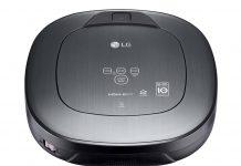 Der LG HomBot Staubsaug-Roboter, ausgestattet mit HomeGuard-Funktion, kann Zuhause seines Besitzers überwachen und über unerwünschte Eindringlinge informieren.