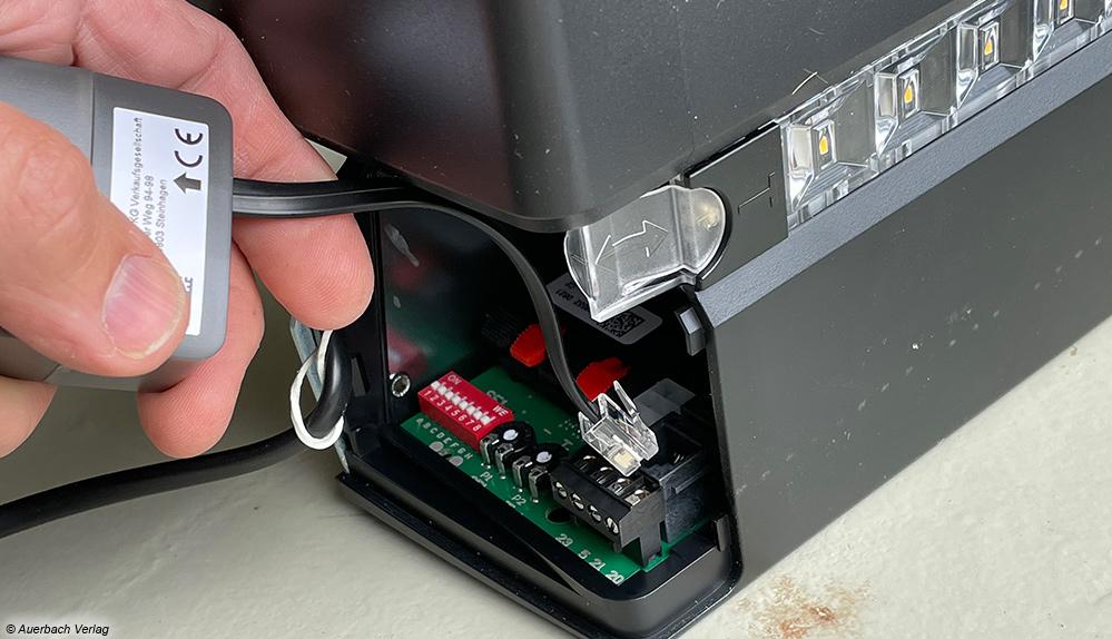 Einbau HCP-Adapter